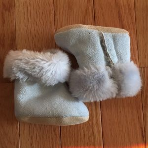 Children's Place Faux Fur Booties